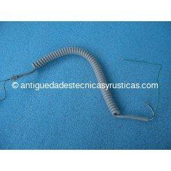 TELEFONOS ANTIGUOS - CABLE RIZADO HERALDO