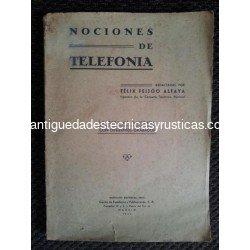 NOCIONES DE TELEFONIA 1941