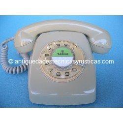 TELEFONO ANTIGUO ESPAÑOL DE SOBREMESA AÑOS 70
