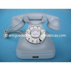 TELEFONO ANTIGUO BAQUELITA GRIS