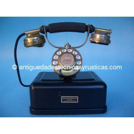TELEFONO ANTIGUO ESPAÑOL DE SOBREMESA AÑOS 20