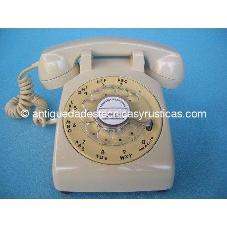 TELEFONO ANTIGUO AMERICANO AÑOS 50
