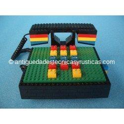 TELEFONO ANTIGUO LEGO AÑOS 80