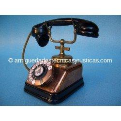 TELEFONO ANTIGUO DANÉS AÑOS 20/30 EN COBRE