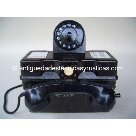 TELEFONO ANTIGUO MILITAR AÑOS 50
