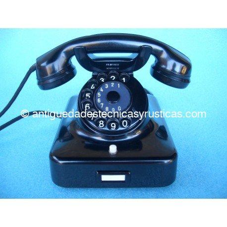 TELEFONO ANTIGUO W48 F.R. REINER MUNCHEN