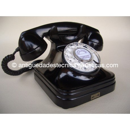 TELÉFONO ANTIGUO ESPAÑOL AÑOS 50 DE SOBREMESA