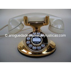 TELEFONO WESTERN ELECTRIC GOLD IMPERIAL