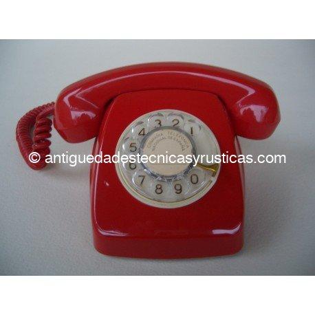 TELEFONO ROJO ESPAÑOL AÑOS 70