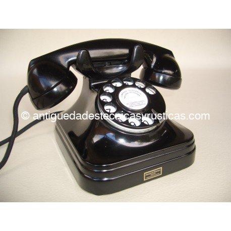TELEFONO ANTIGUO ESPAÑOL DE SOBREMESA AÑOS 50