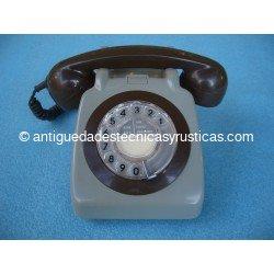 TELEFONO ANTIGUO INGLES DE SOBREMESA AÑOS 70