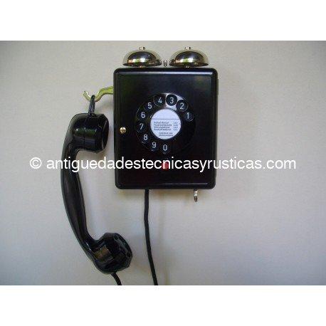 TELEFONO ANTIGUO SUIZO DE PARED AÑOS 40/50