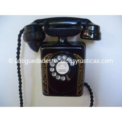 TELEFONO ANTIGUO BELL DE PARED AÑOS 40