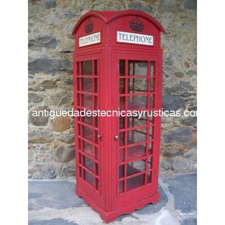 CABINA TELEFONICA LONDINENSE - REPRODUCION