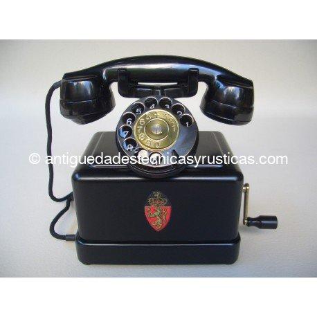 TELEFONO ANTIGUO KRISTIANIA AÑOS 20