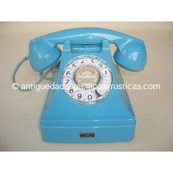 TELEFONO AZUL STANDARD ELECTRICA, S.A. DEL AÑO 1.958