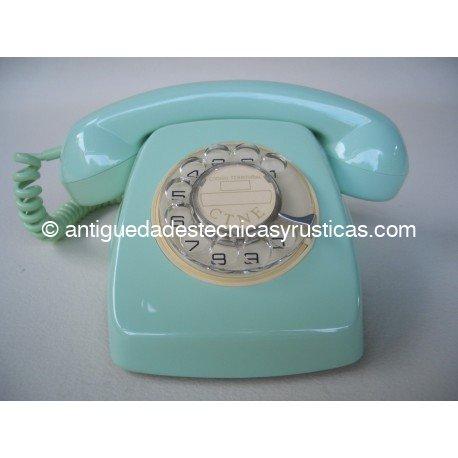 TELEFONO VERDE ESPAÑOL AÑOS 70 DE SOBREMESA