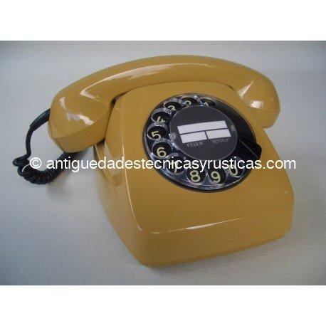 TELEFONO ANTIGUO ALEMAN DE SOBREMESA AÑOS 70