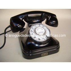 TELEFONO ANTIGUO ADAPTADO A FIBRA OPTICA
