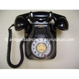 TELEFONO ANTIGUO DE PARED BAQUELITA AÑOS 50