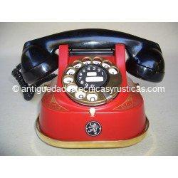 TELEFONO ROJO BELL AÑOS 40/50