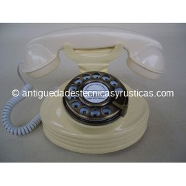 TELEFONO ROJO TIPO ANTIGUO
