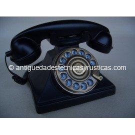 TELEFONO NEGRO TIPO INGLES ANTIGUO