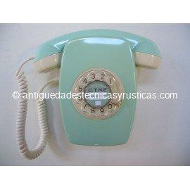 TELEFONO HERALDO VERDE DE PARED DEL AÑO 1967