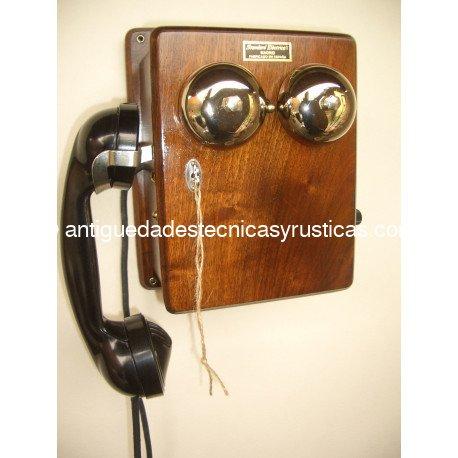 TELEFONO STANDARD ELECTRICA, S.A. AÑOS 30 MAGNETO