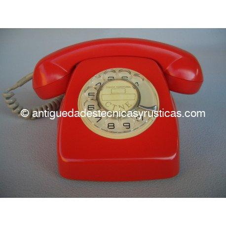 TELEFONO HERALDO ROJO ESPAÑOL AÑOS 70
