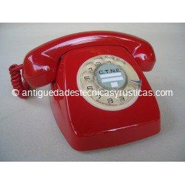 TELEFONO ROJO HERALDO ESPAÑOL AÑOS 70