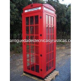 REPLICA CABINA TELEFONICA LONDRES