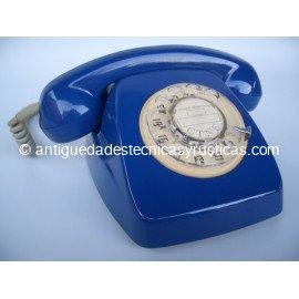 TELEFONO HERALDO AZUL ESPAÑOL AÑOS 70