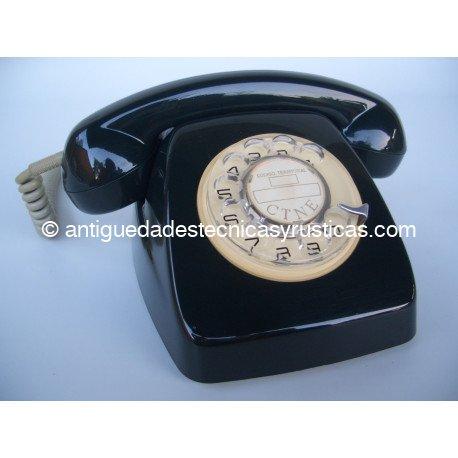 TELEFONO HERALDO NEGRO ESPAÑOL AÑOS 70