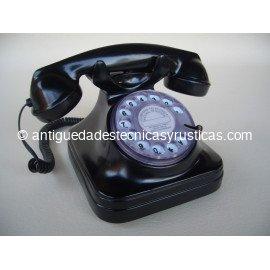 TELEFONO NEGRO TIPO ESPAÑOL ANTIGUO
