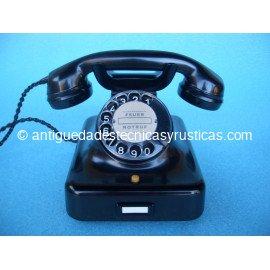 TELEFONO NEGRO PARA FIBRA OPTICA