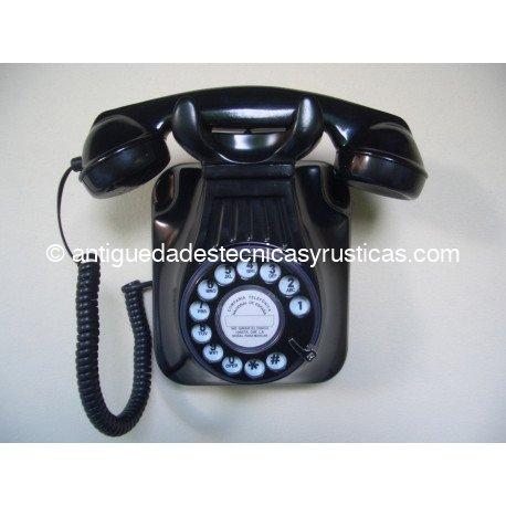 TELEFONO PARED TIPO ESPAÑOL ANTIGUO