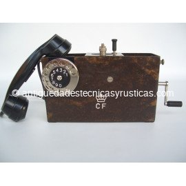 TELEFONO MILITAR ERICSSON MAGNETO AÑOS 30