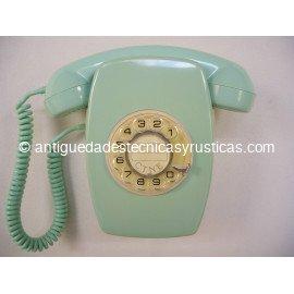 TELEFONO HERALDO VERDE DE PARED AÑOS 70