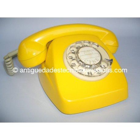 TELEFONO HERALDO AMARILLO ESPAÑOL AÑOS 70