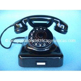 TELEFONO ANTIGUO W48 DE SOBREMESA AÑOS 50