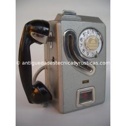 CABINA TELEFONICA PESETAS