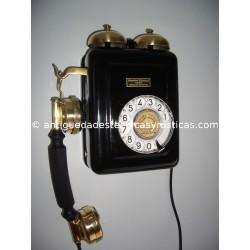 TELEFONO ANTIGUO STANDARD ELECTRICA, S.A. AÑOS 20