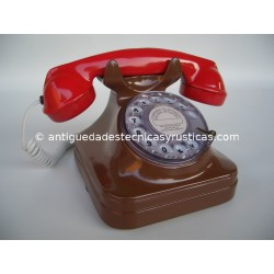 REPLICA TELEFONO ANTIGUO BICOLOR