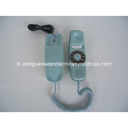 TELEFONO GONDOLA AZUL DE SOBREMESA AÑOS 70