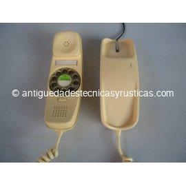 TELEFONO GONDOLA BEIGE DE SOBREMESA AÑOS 70