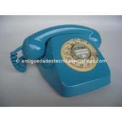 TELEFONO HERALDO AÑOS 70 TURQUESA