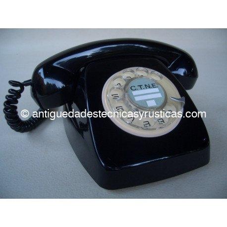TELEFONO NEGRO STANDARD ELECTRICA AÑOS 60
