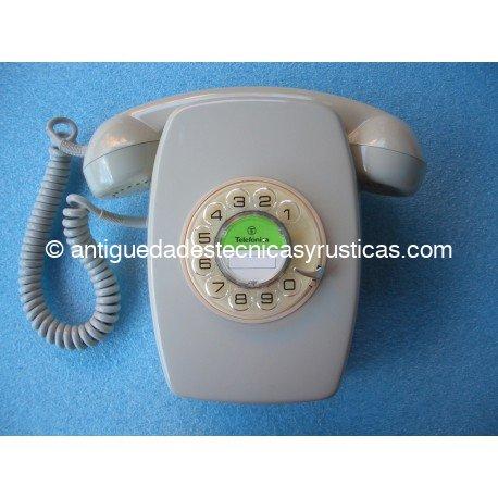 TELEFONO ANTIGUO ESPAÑOL DE PARED AÑOS 70