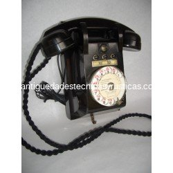 TELEFONO ANTIGUO FRANCES DE PARED